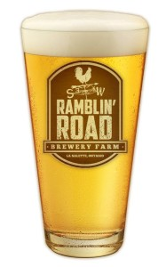 Ramblin' Road pint glass