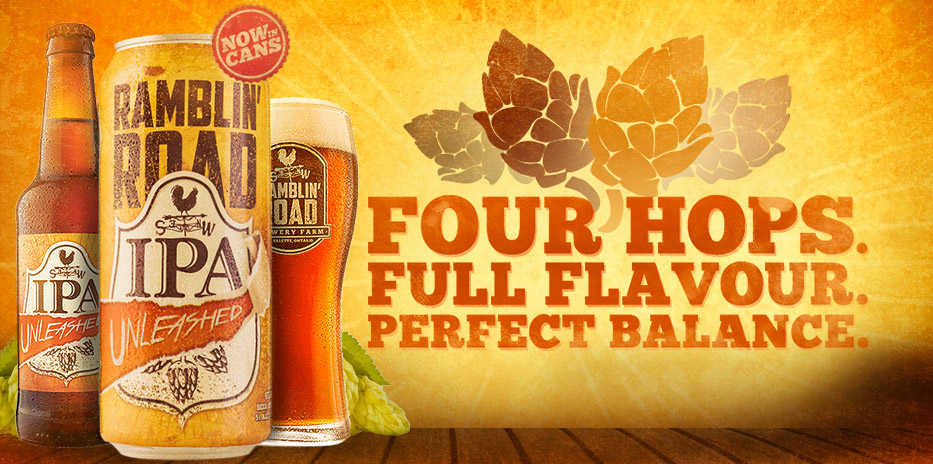 FOUR HOPS. FULL FLAVOUR. PERFECT BALANCE.