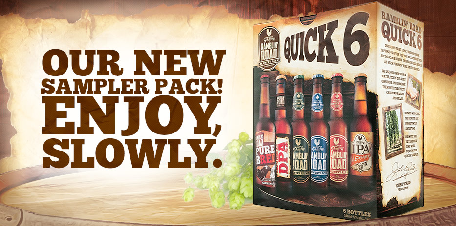OUR NEW SAMPLER PACK! ENJOY SLOWLY.