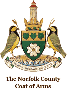 The Norfolk County Coat of Arms